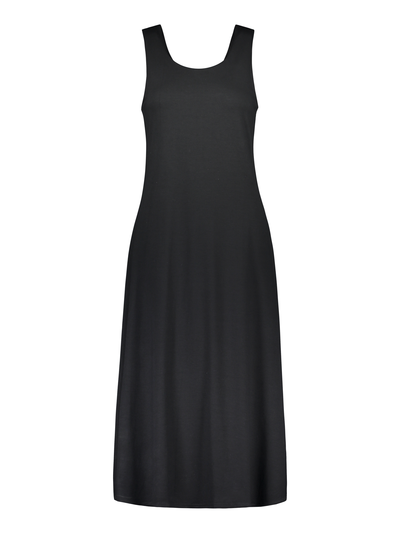 Solid Summer Dress Black