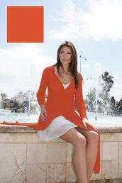 2550 multicardigan Orange