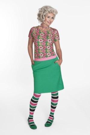 Pink Blossom Skirt