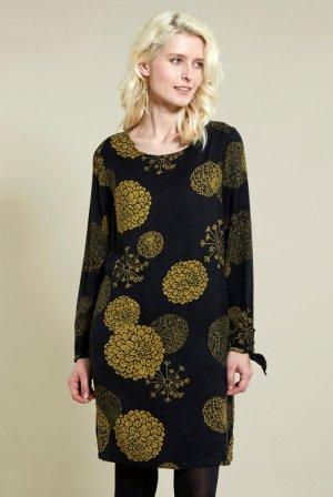 Bloom Tunic Dress Coal