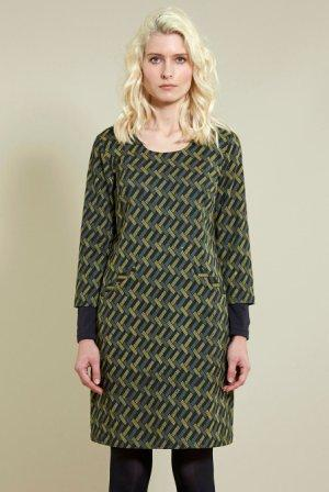 Tunic Dress With Sleeves Khaki