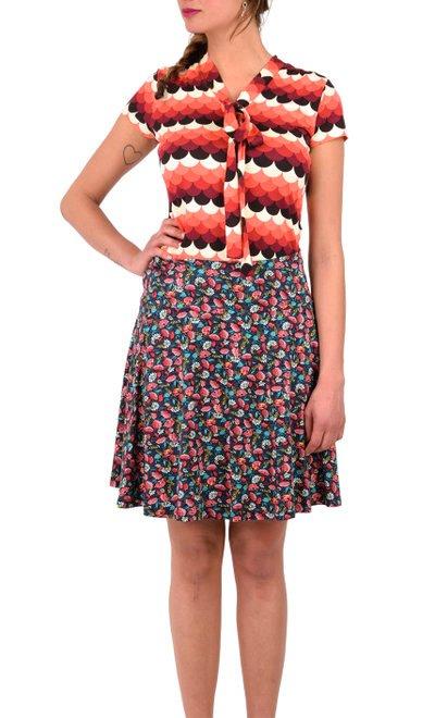 Circle Border Skirt Floramania