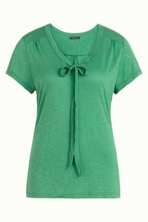 Goldie Top Uni  Peapod Green