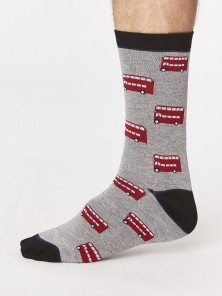Men´s bamboo Socks London Bus