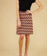 Border Skirt Libellule