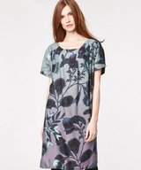 Jacobean Tencel Print Dress
