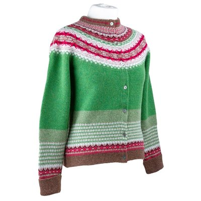 Knitted Cardigan Green