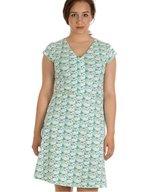 Dress Marilyn Swans Jersey Cotton