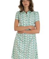Dress Eloise Summer Swans Jersey Cotton