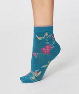 Birdy Summer Socks Kingfisher Green Size 36-40