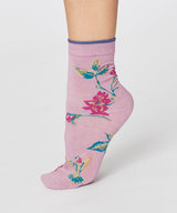 Birdy Summer Socks Orchid Pink Size 36-40