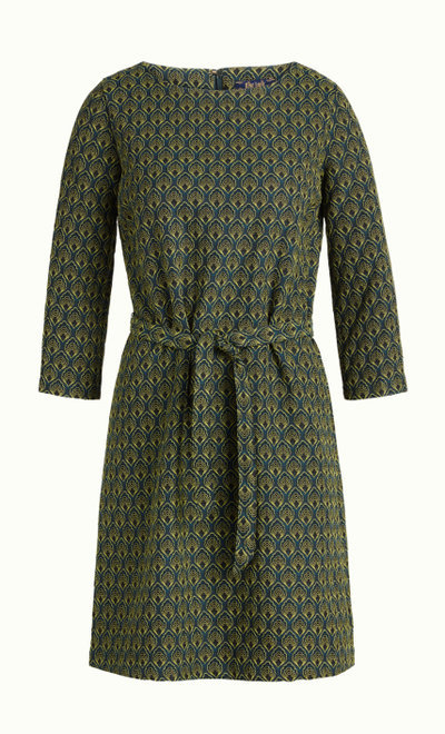 Zoe Dress Uptown Dragonfly Green