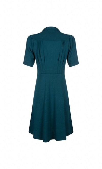Diner Dress Milano Dragonfly Green