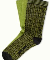 Socks 2-Pack Loopy Green