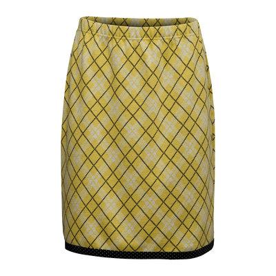 Skirt Sif Basic Rutig