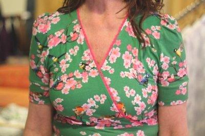 Dress Auntie My Garden Green