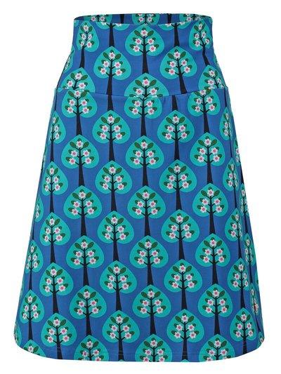Skirt Hearts Tree Blue