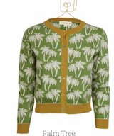 Green Palm Trees in organic cotton