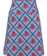 Skirt Square Rose Blue