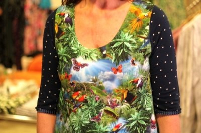 Alice Dress  Rainforest