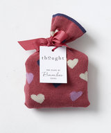 Love Hearts Valentines Bamboo Socks In A Bag