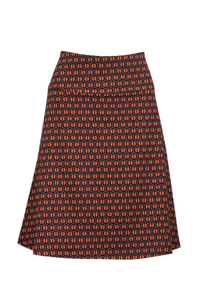 Skirt A-line Honeycomb gravel
