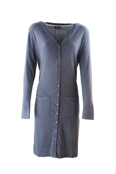 Cardigan Long Bambu Anthracite