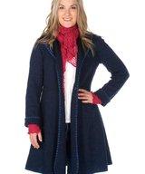 WoolCardigan/Coat Blue Eva-Lena
