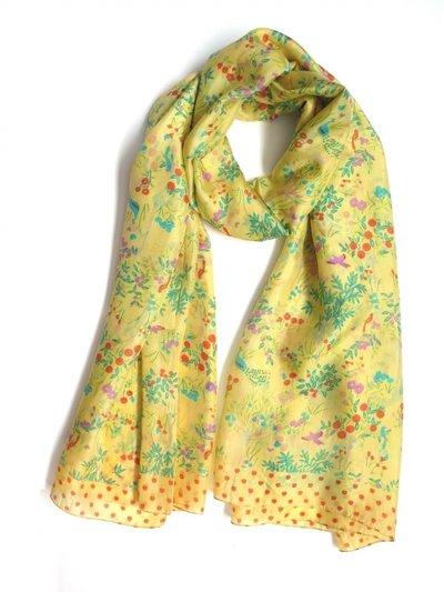 Silkessjal Natur Lemon Yellow