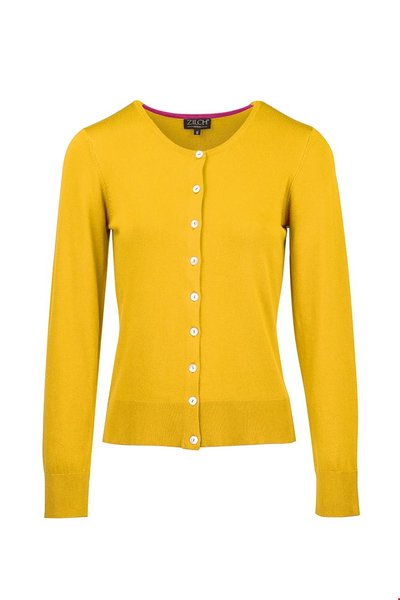Cardigan Roundneck Gold