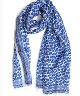 Scarf Silk Lotus Blue