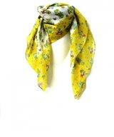 Scarf Cotton Flamingo Yellow