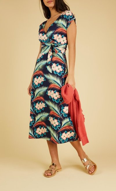 Lot Dress Midi Lagoon