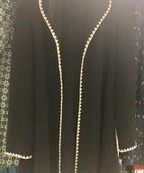 WoolCardigan/Coat Black and White