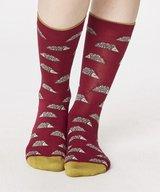 Natasha Hedgehog Bamboo Socks. Ruby