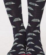Natasha Hedgehog Bamboo Socks Indigo