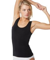 Bamboo Tank Top Black