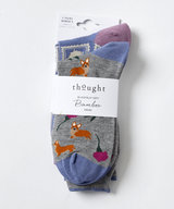 Royal Party Corgi Dog Socks 2 Pack