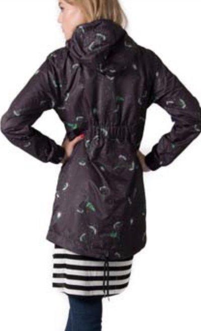 Dandelion raincoat