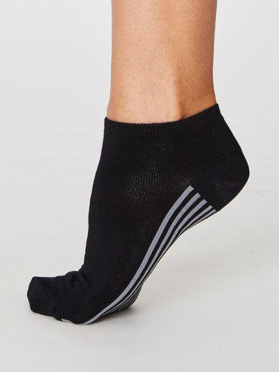 Solid Jane Bambu Socks Svarta