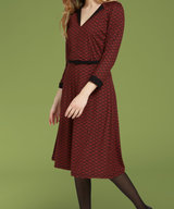 Lou Dress Loopy Sienna Red