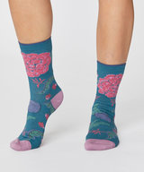 Grand Floral Bamboo Socks