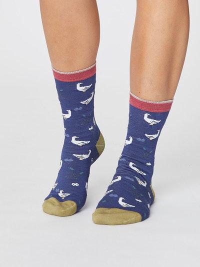 Goosey Lucy Bird Bamboo Socks
