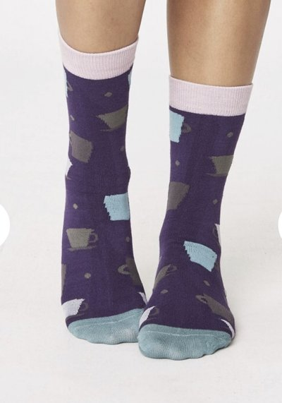 Tova Cup Bamboo Socks Heather