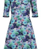 Stella Dress Blue  Cornflower
