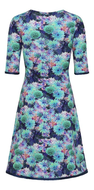 Stella Dress Blue  Cornflower