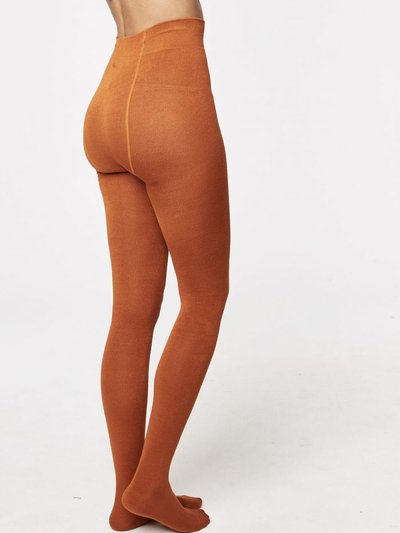 Brontie Bamboo Stockings Burnt Orange