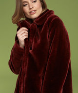 Alba Coat Brique Red