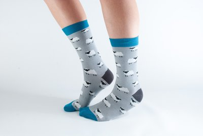 Bamboo Socks Grey Sheep