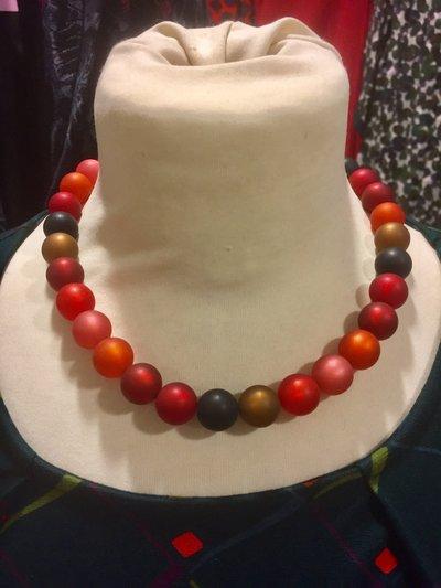 Halsband resin rost